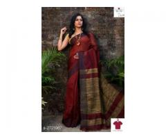 Latest Collection Of Khadi Silk Sarees in India – Kaashmira