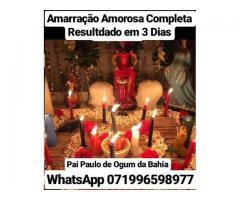 Amarração Amorosa Definitiva Online e Presencial