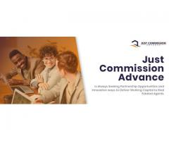 Advance on real estate commission - Just Commission Advance