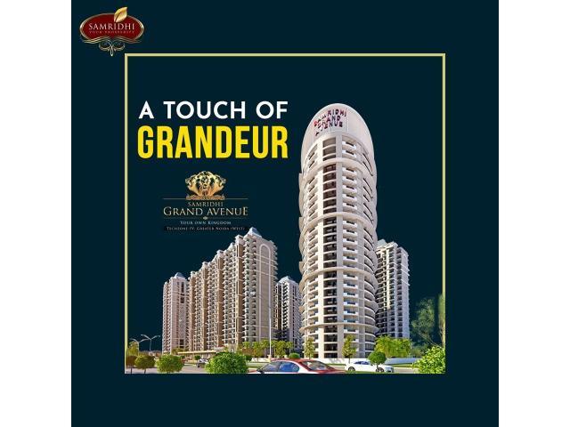 3 BHK Flats in Greater Noida West - Samridhi Grand Avenue
