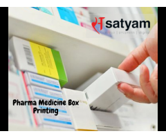 Pharmaceutical Box Printing