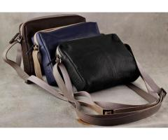 Genuine Leather Laptop Bag - Squareloopbags