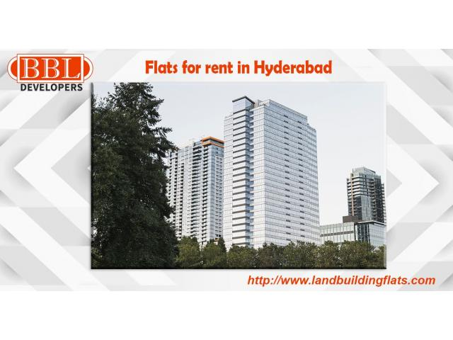 Real Estate Agents in Hyderabad, Flats for rent in Hyderabad.