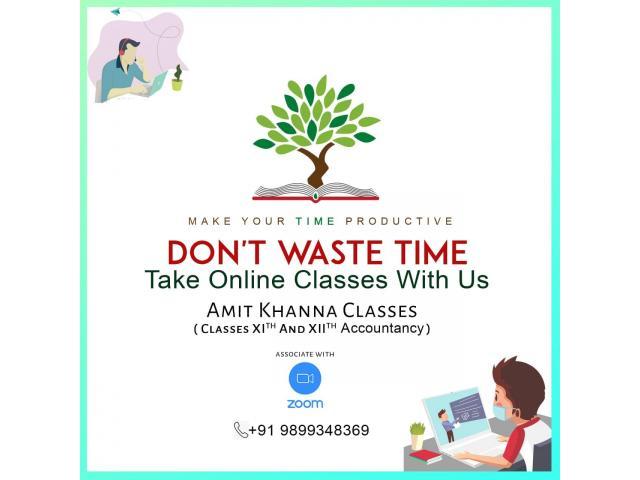 Amit Khanna Accounts Classes in Delhi