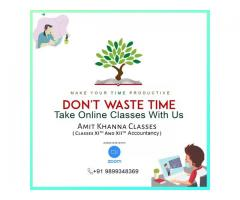 Amit Khanna Accounts Classes in Delhi