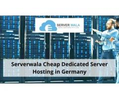 Serverwala Cheap Dedicated Server Hosting in Germany