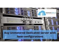 Buy Unmetered Dedicated Server with New configurations