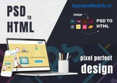 convert your psd to html , xd to html, sketch to html
