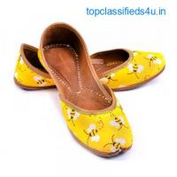 Purely Lush | Buy Handcrafted Ladies Juttis & Kolhapuri Chappals Online