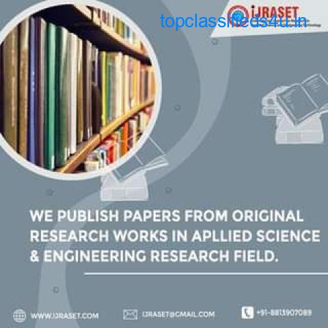 International Journal for Research in Applied Science and Engineering Technology