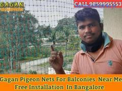 Gagan Pigeon nets bangalore