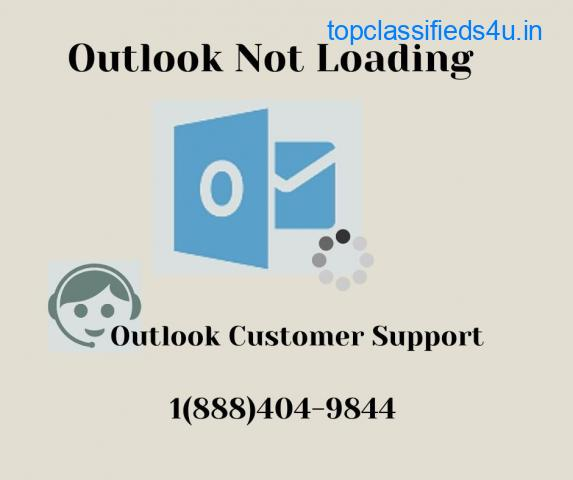 Outlook Not Loading 1(888)404-9844 Outlook Customer Support