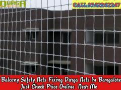 Durga Balcony safety nets bangalore   call 9742262247 near me free installation nets