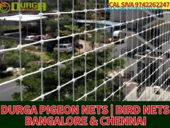 Durga Pigeon nets | anti pigeon nets | pigeon nets for balcony in bangalore