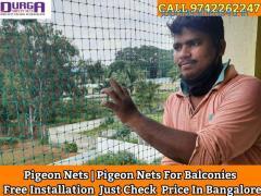 Durga Pigeon nets   anti pigeon nets   pigeon nets for balcony in bangalore