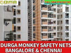 Durga Monkey nets | monkey nets for balcony | call 9742262247 high quality nets bangalore