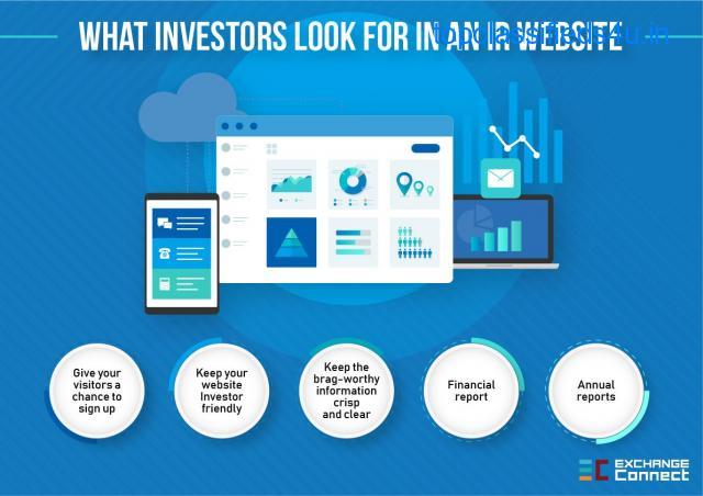 What Investors Look For in An IR Website | ExchangeConnect
