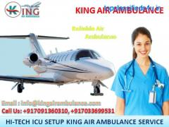 Finest and Fasted Air Ambulance Service in Sri Nagar by King