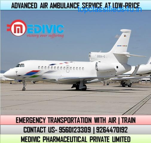 Get Utmost Patient Shifting by Medivic Air Ambulance Service in Dibrugarh