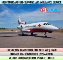 Receive Top-Level Emergency ICU Air Ambulance Service in Gorakhpur