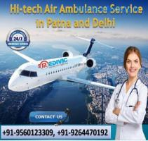 Choose Fast-Rated Air Ambulance Service in Guwahati by Medivic
