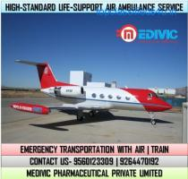 Pick Remarkable Medical Care by Medivic Air Ambulance Service in Imphal