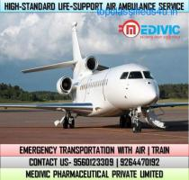 Get Highly Demanded Air Ambulance Service in Indore by Medivic