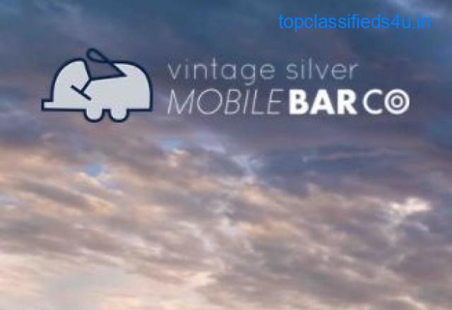 Mobile Bar Service Charleston with the Vintage Silver