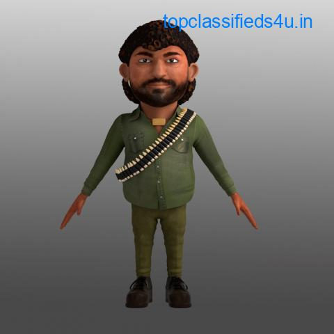 3D Character Animation Studio makes reality through your thinking