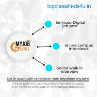 Online Video Interview - Live Interview - Campus Interview | MyJobGuru