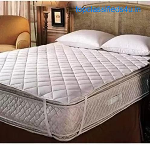 Buy King Size Mattress Protector With Elastic Straps | Smarthomedecore