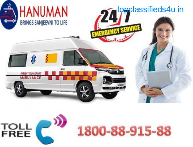 Most Affordable (1800-88915-88) Road Ambulance Service in Begusarai