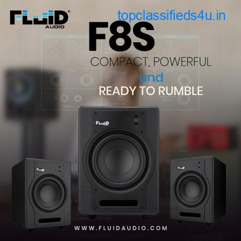Fluid Audio's F8S Subwoofer