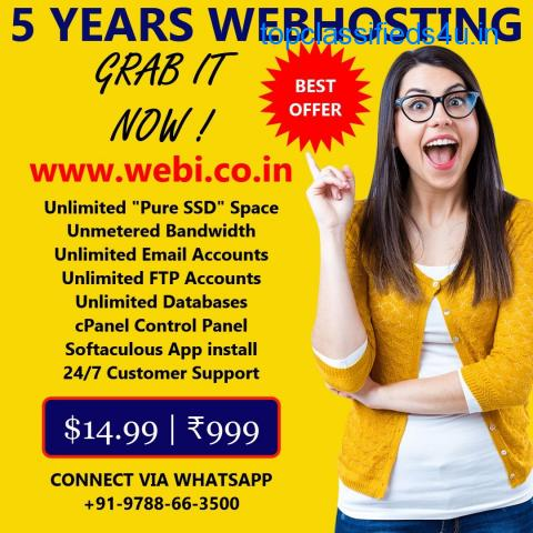 Cheap and best web hosting in india