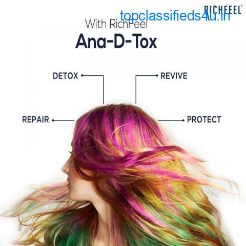 Hair Colour Damage Repair - Richfeel Ana-D-Tox Treatment
