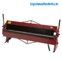 Sheet Bending Machines manufacturer and wholesaler in Punjab