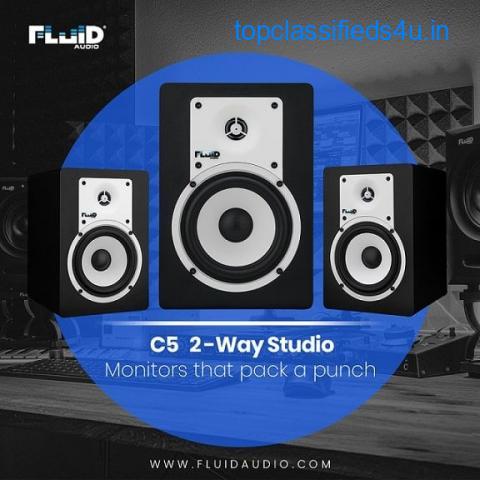 Fluid Audio C5 2- Way Studio Speaker