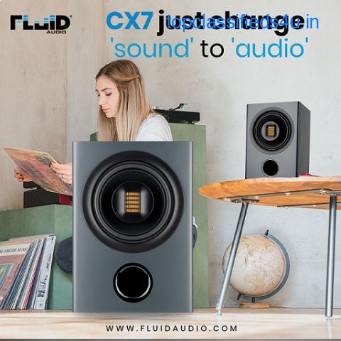 CX7 Hi-Fi Active Reference Monitors