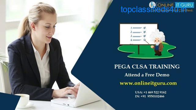Pega clsa certification | Pega clsa certification course | OnlineITGuru