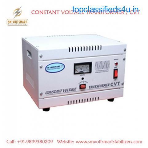 Constant Voltage Transformer Manufacturer Supplier in Ghaziabad Delhi