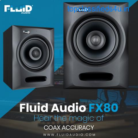 Fluid Audio FX80 – Hear the magic of coax accuracy