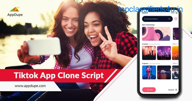 Transform the entire short-video app market using TikTok Clone