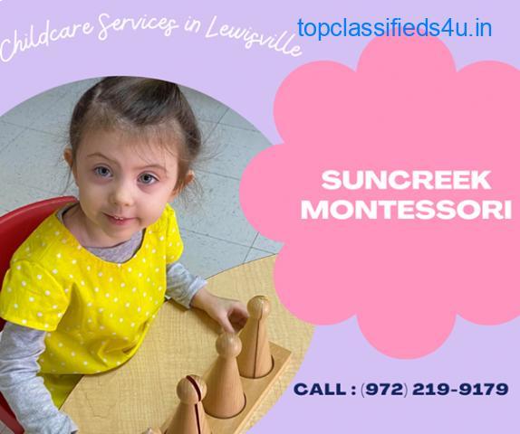 Best montessori in Lewisville TX