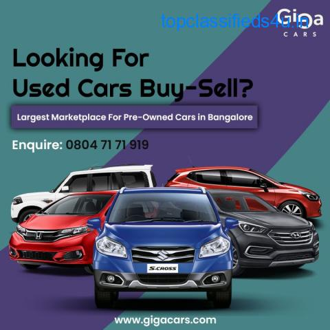 Buy Used Cars in Bangalore - gigacars.com