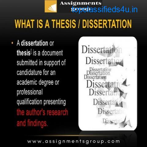 dissertation writing help in USA | assignmentsgroup