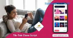 Enable easy sharing of attractive videos by using the Tiktok Clone Script