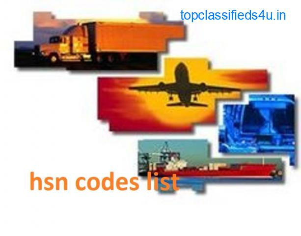 Free hsn codes list for Traders