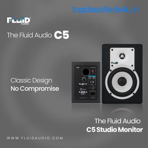 The Fluid Audio - C5 Studio Monitors