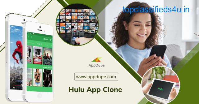 Emerge as the next big thing in on-demand entertainment by purchasing the Hulu Clone app