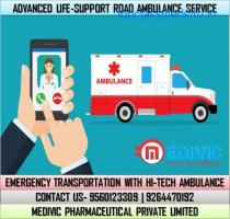 Avail Advanced Medivic Ambulance Service in Bihta, Patna